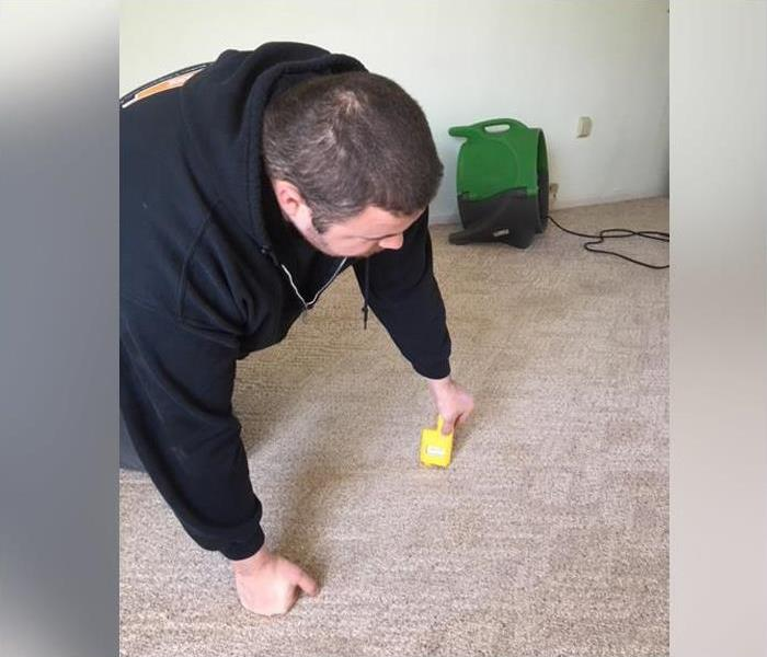 Testing for Wet Carpets