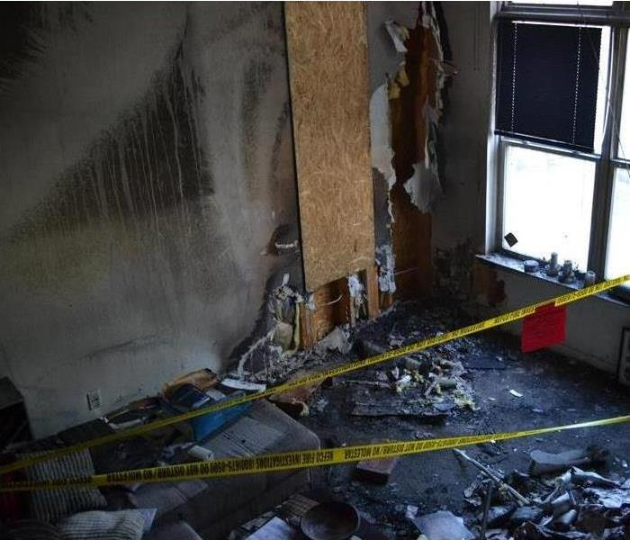 Fire Damage After a Fire, SERVPRO of Dearborn/ Dearborn Heights SE Has a Plan