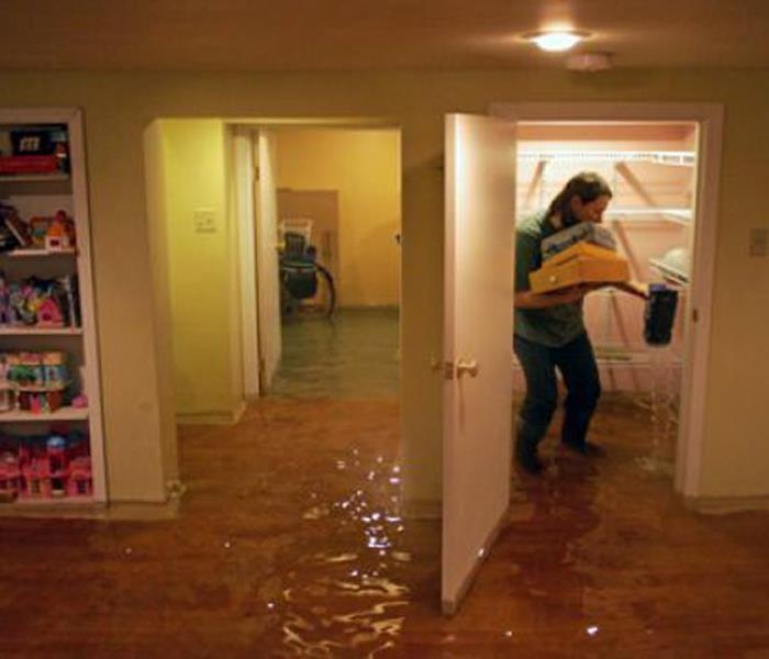 Water Damage When Storms and Floods Hit Dearborn, SERVPRO is ready!