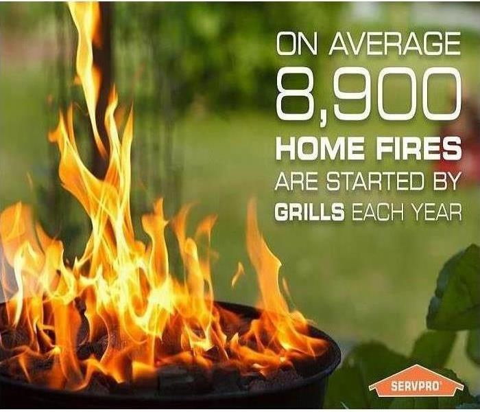 Fire Damage Outdoor Grill Safety